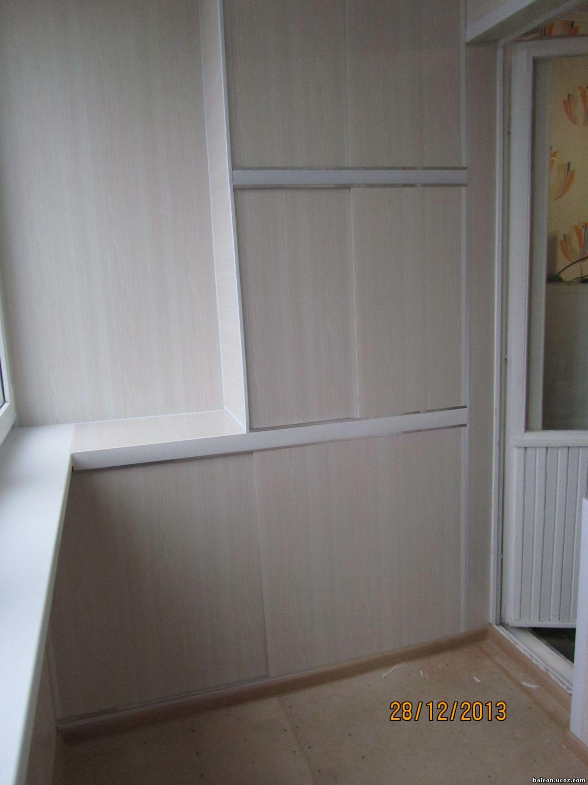 Шкаф из панелей пвх на балкон своими руками 4