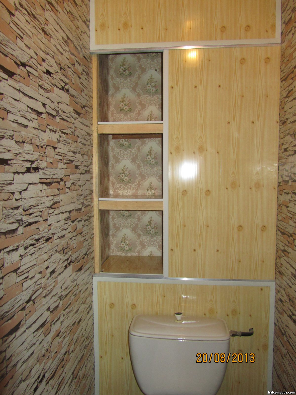 Как сделать шкаф туалете из пластиковых панелей